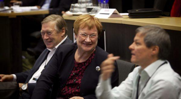 President Tarja Halonen at Koli Forum