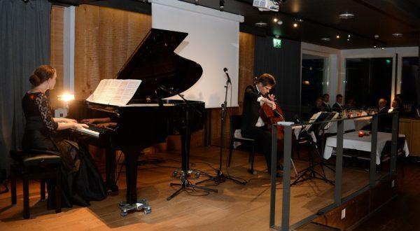 Mazig Azeziah, piano and Jussi Makkonen, cello