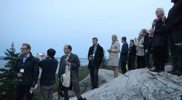 At the peak of Ukko Koli