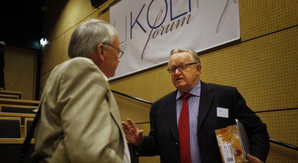 Martti Ahtisaari at Koli Forum